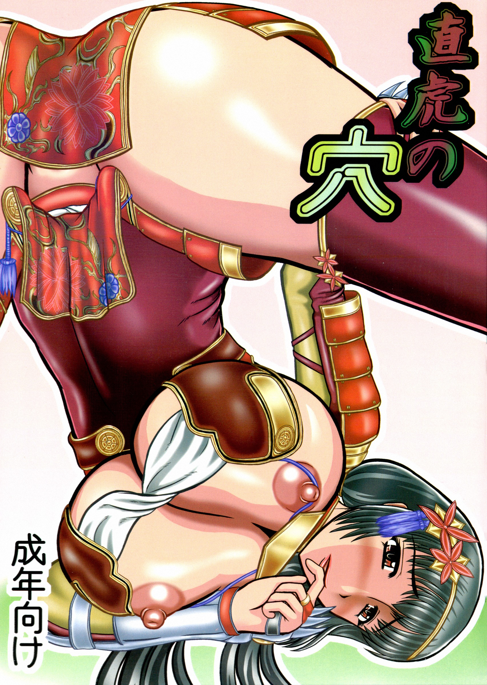 Samurai warriors hentai pic cartoon clip
