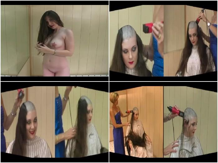 Cutting fetish hair GODESS