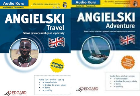Angielski Travel + Adventure [Audiokurs MP3]
