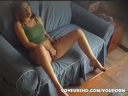 Nanny caught masturbating