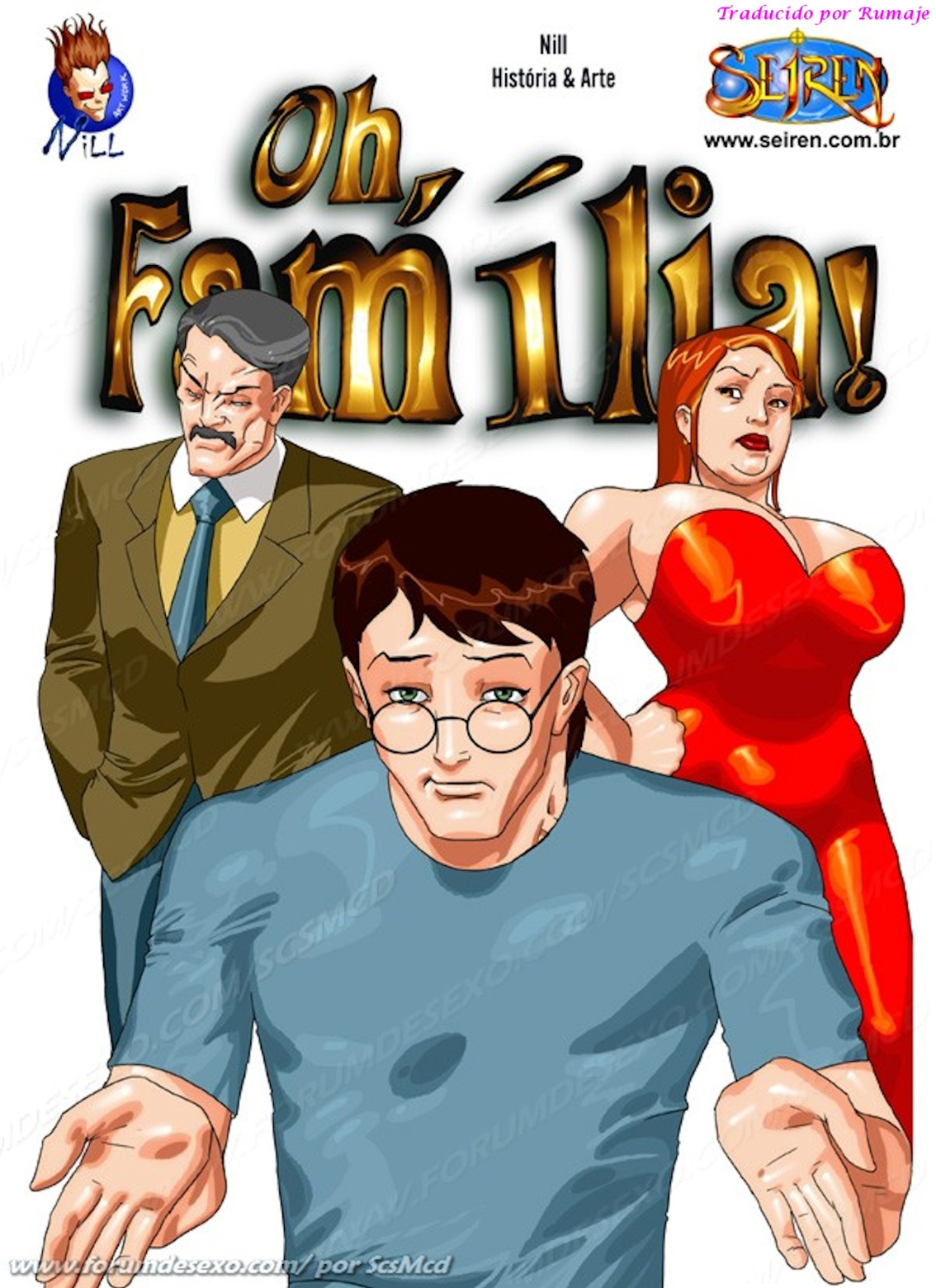 Oh Familia (Megacomic XXX) a color + descarga (buenisimo)