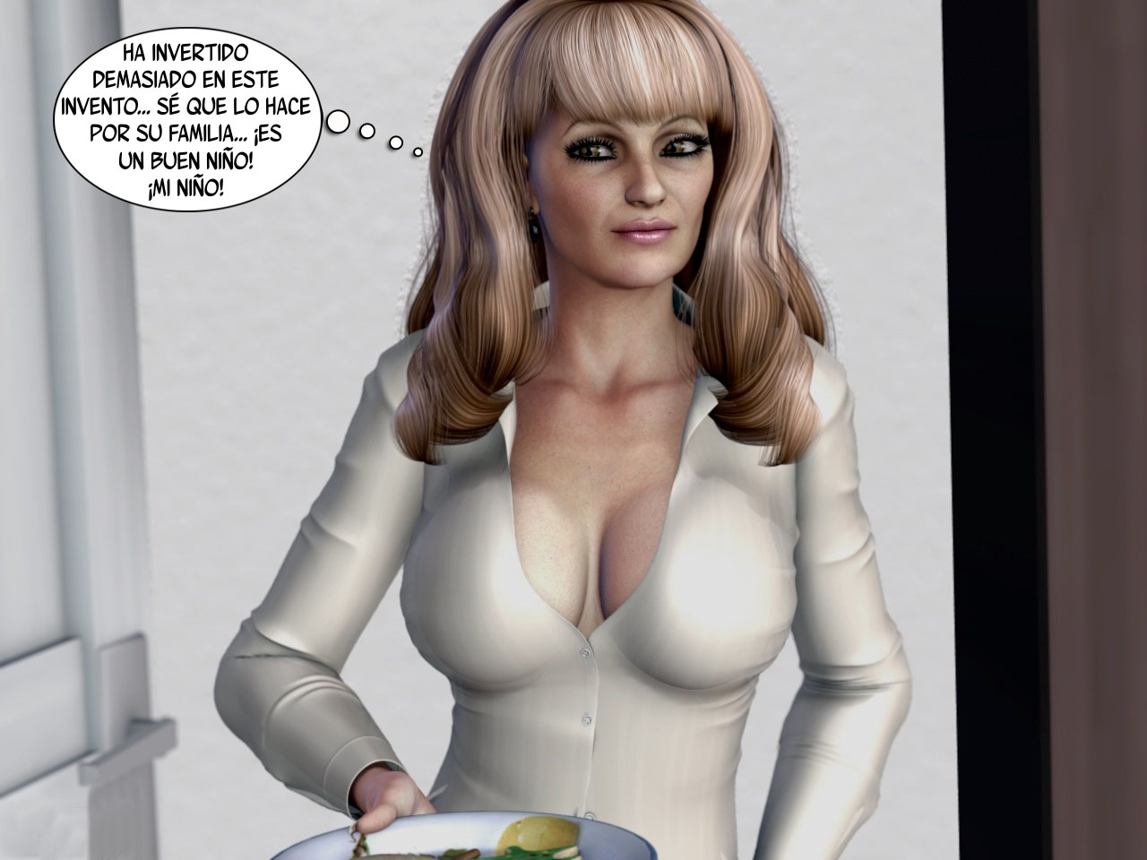 La maquina - Comic XXX (3D)