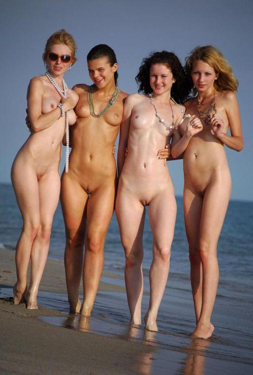 group of naked british girls