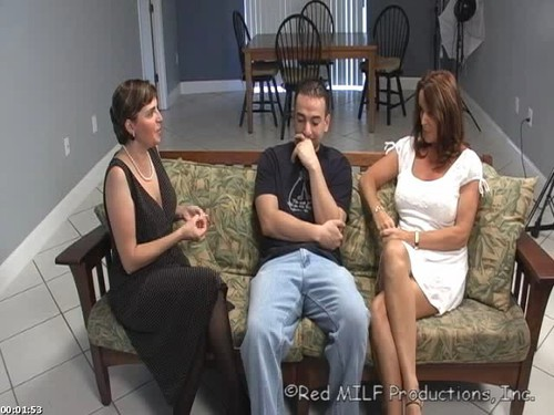 Red milf productions mom and son right!