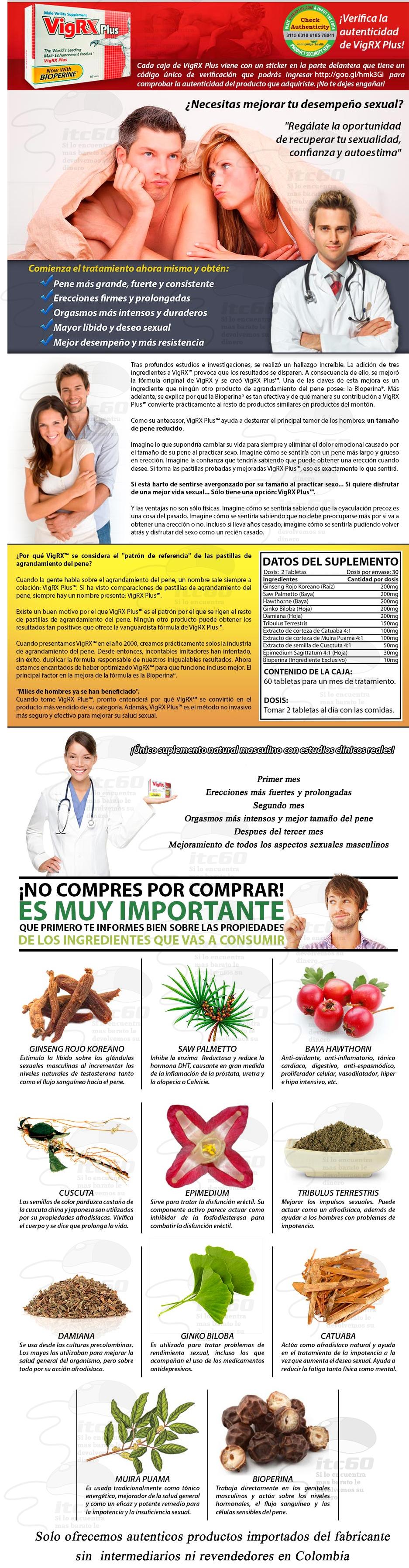 Vigrx plus Colombia