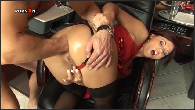 Anal romance with secretary