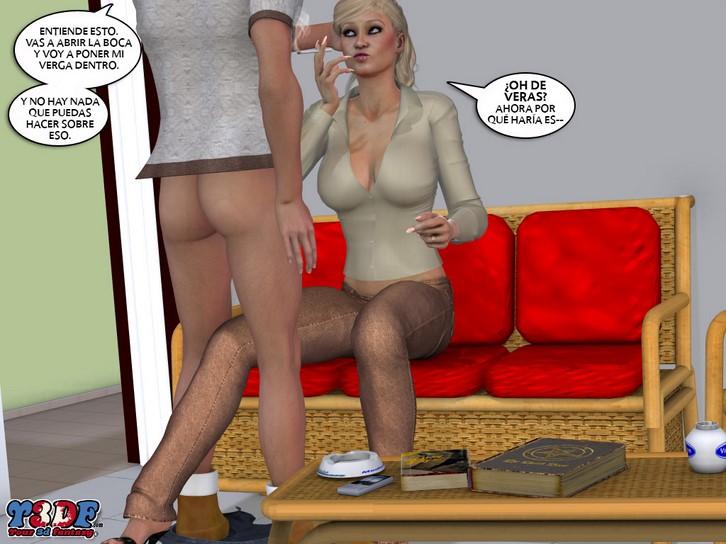 порно комикс семейка флауэрс 2