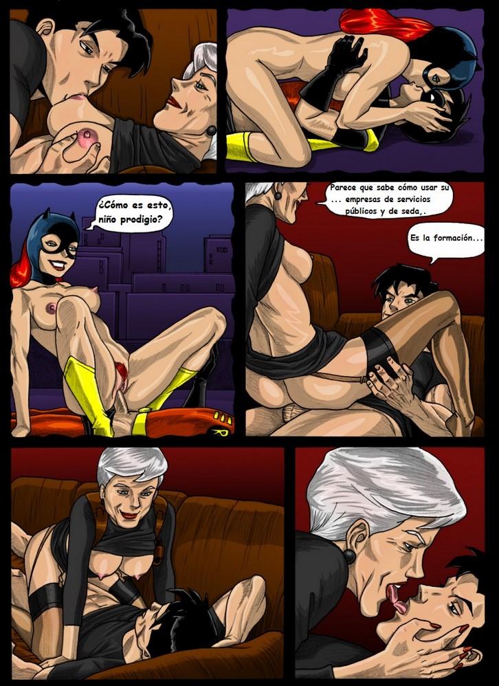 бэтгерл секс комикс
