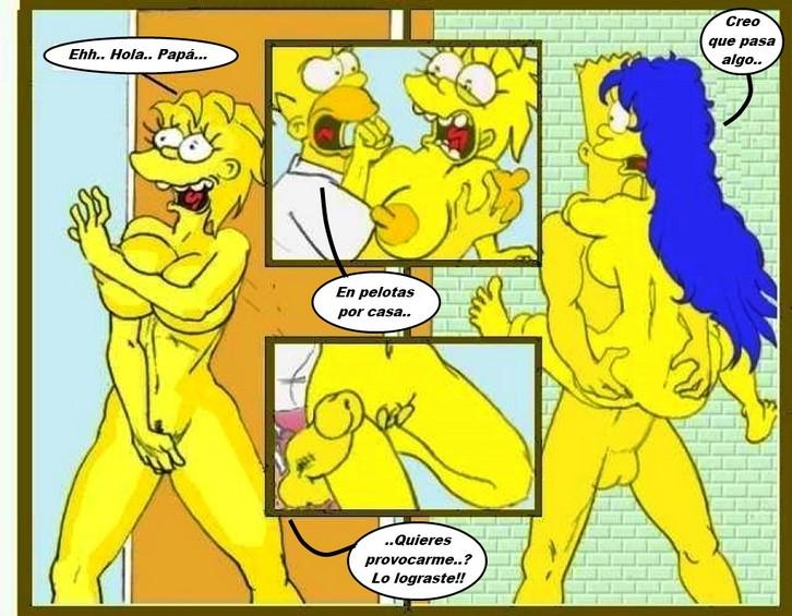 Comic Hentai Los Simpson's en español