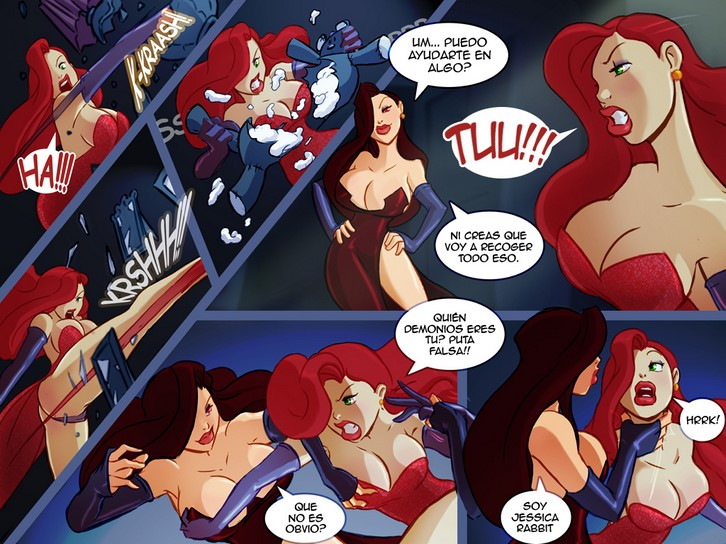 comic Jessica rabbit cartoon porn