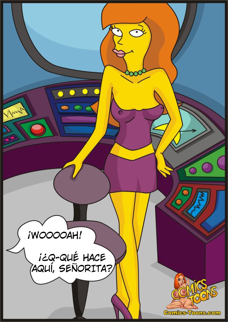 Segundo Comic XXX de Los Simpsons con Bart y Lisa.: comicsporno.es/dos-comics-cortos-de-los-simpsons