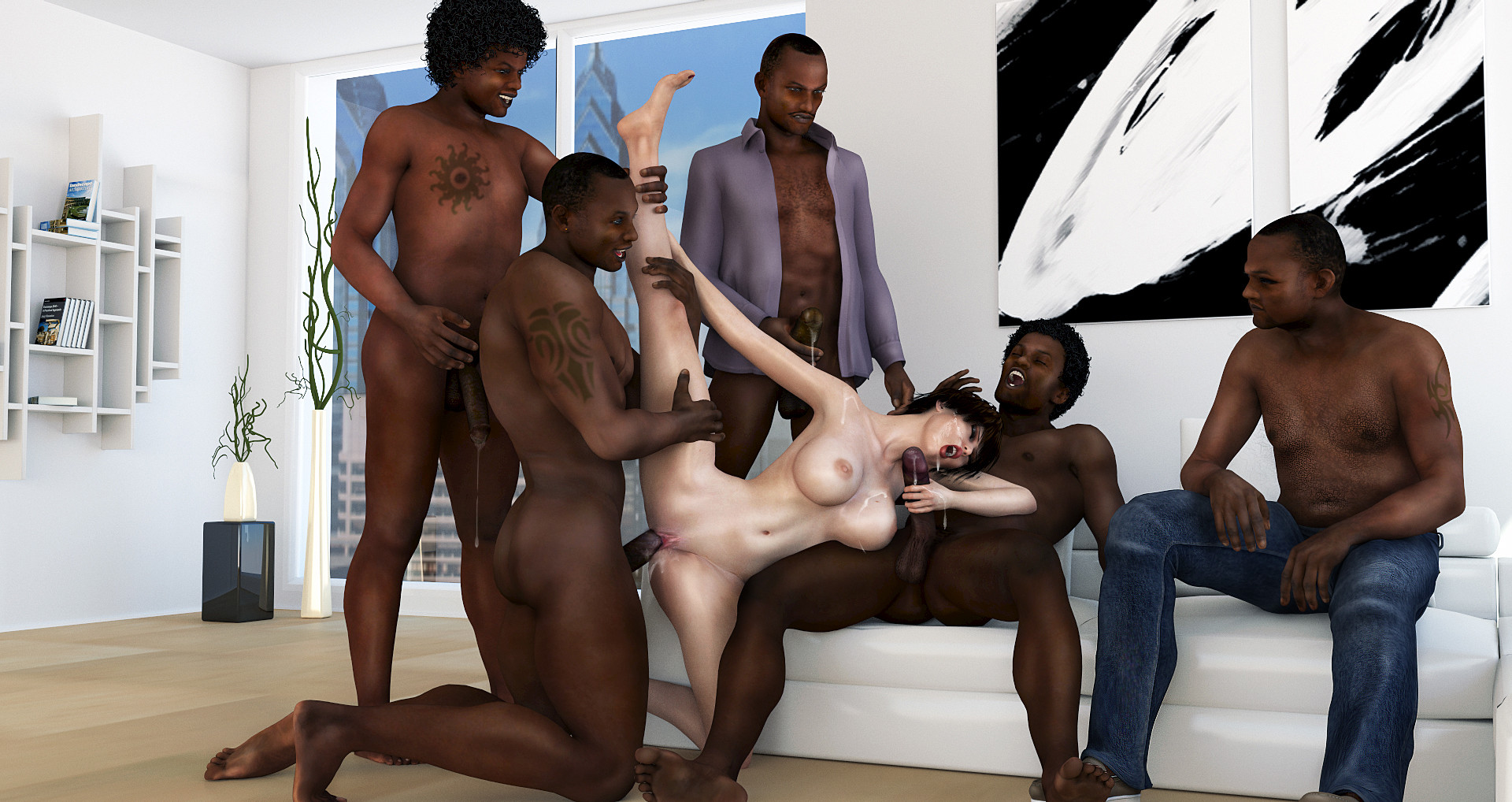 Sex 3d black fuck fucks video