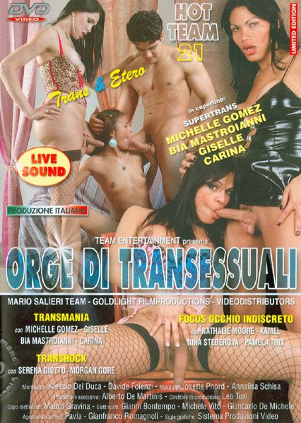 International Hot Team 21 - Orge Di Transessuali (2009)