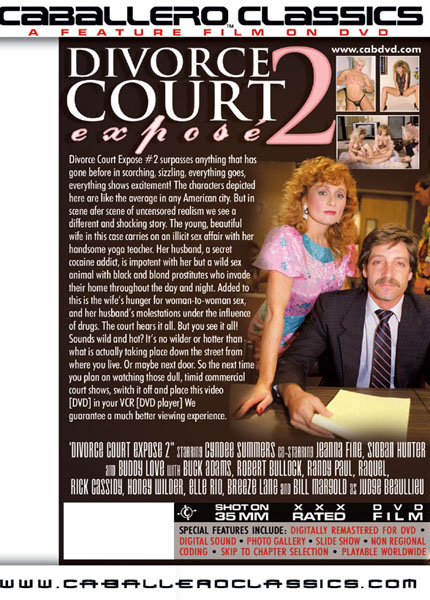 Divorce court expose 2 1987