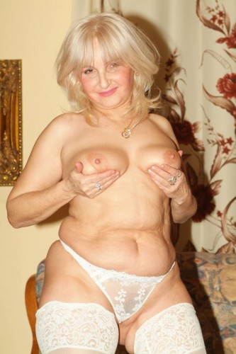 If you're into naughty mature blondes