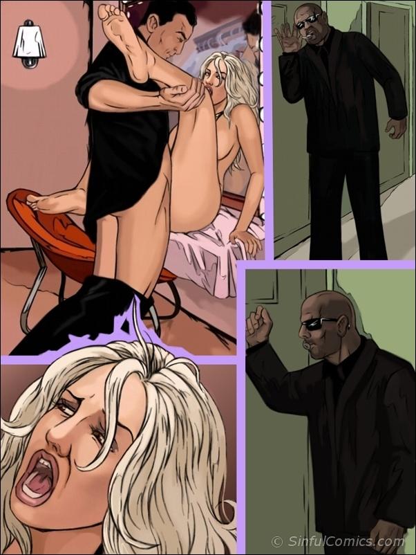 Britney lanza comics desnudos gratis