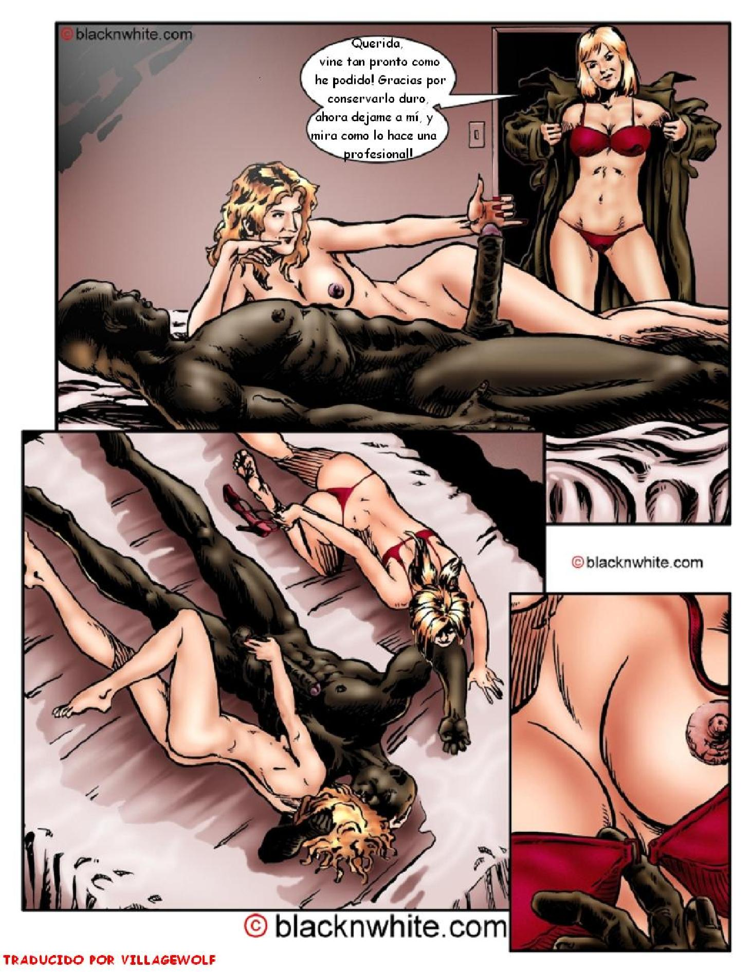 black sex and the city comic