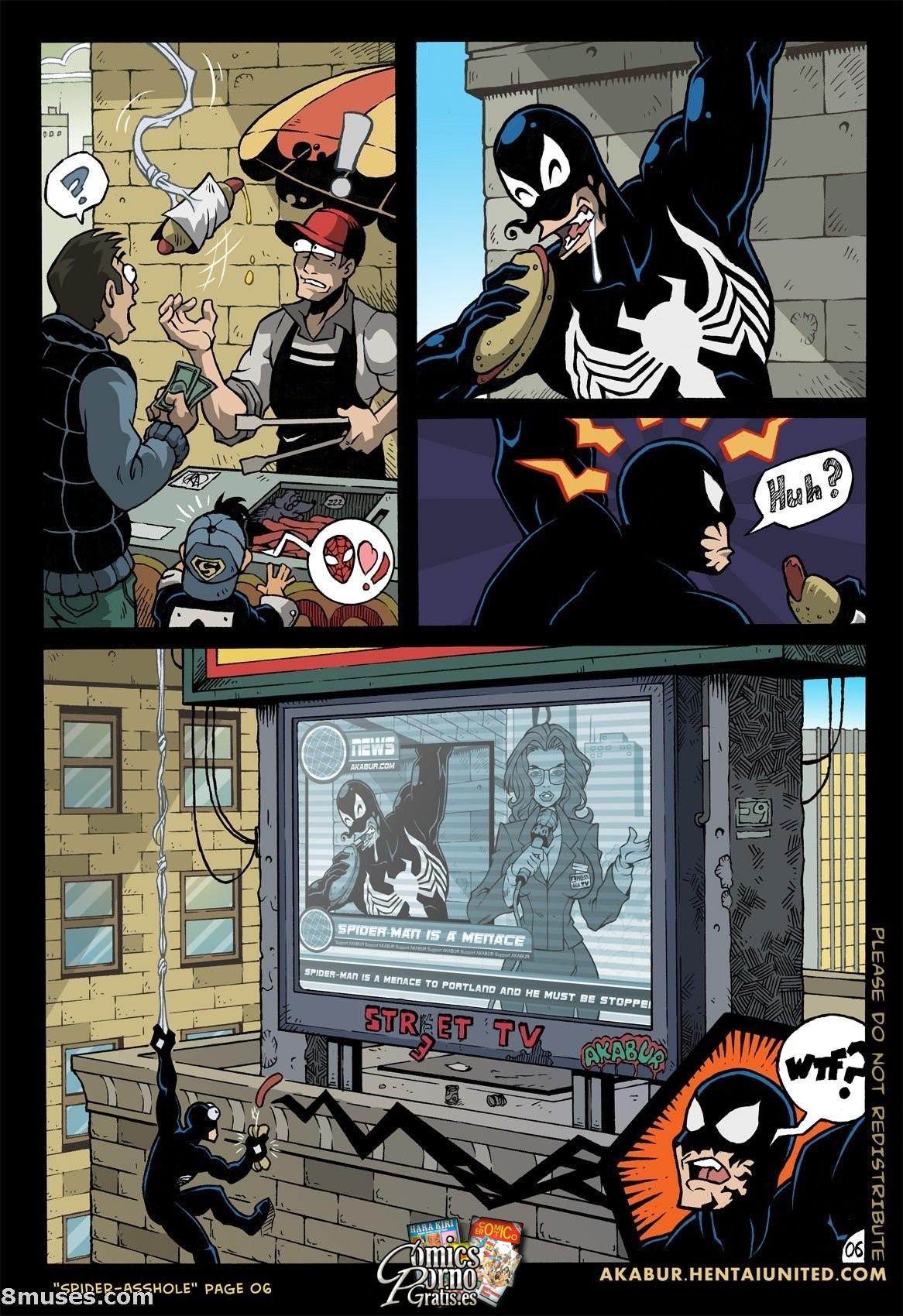 Spiderma parodia xxx