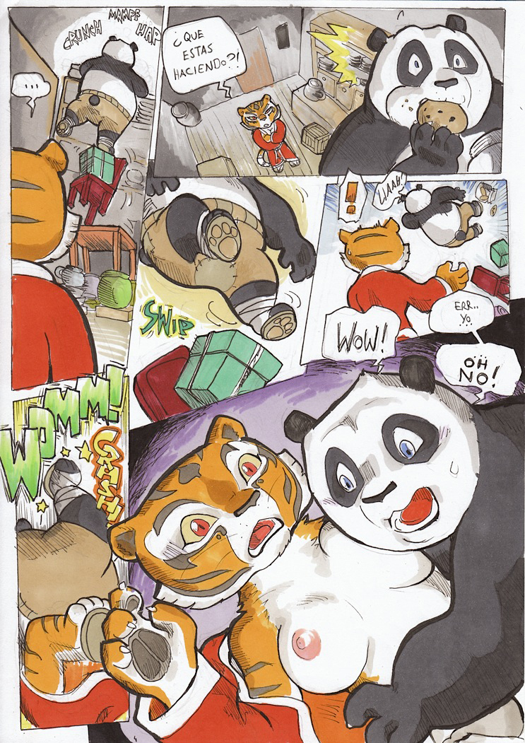 Кунфу панда секс комикс