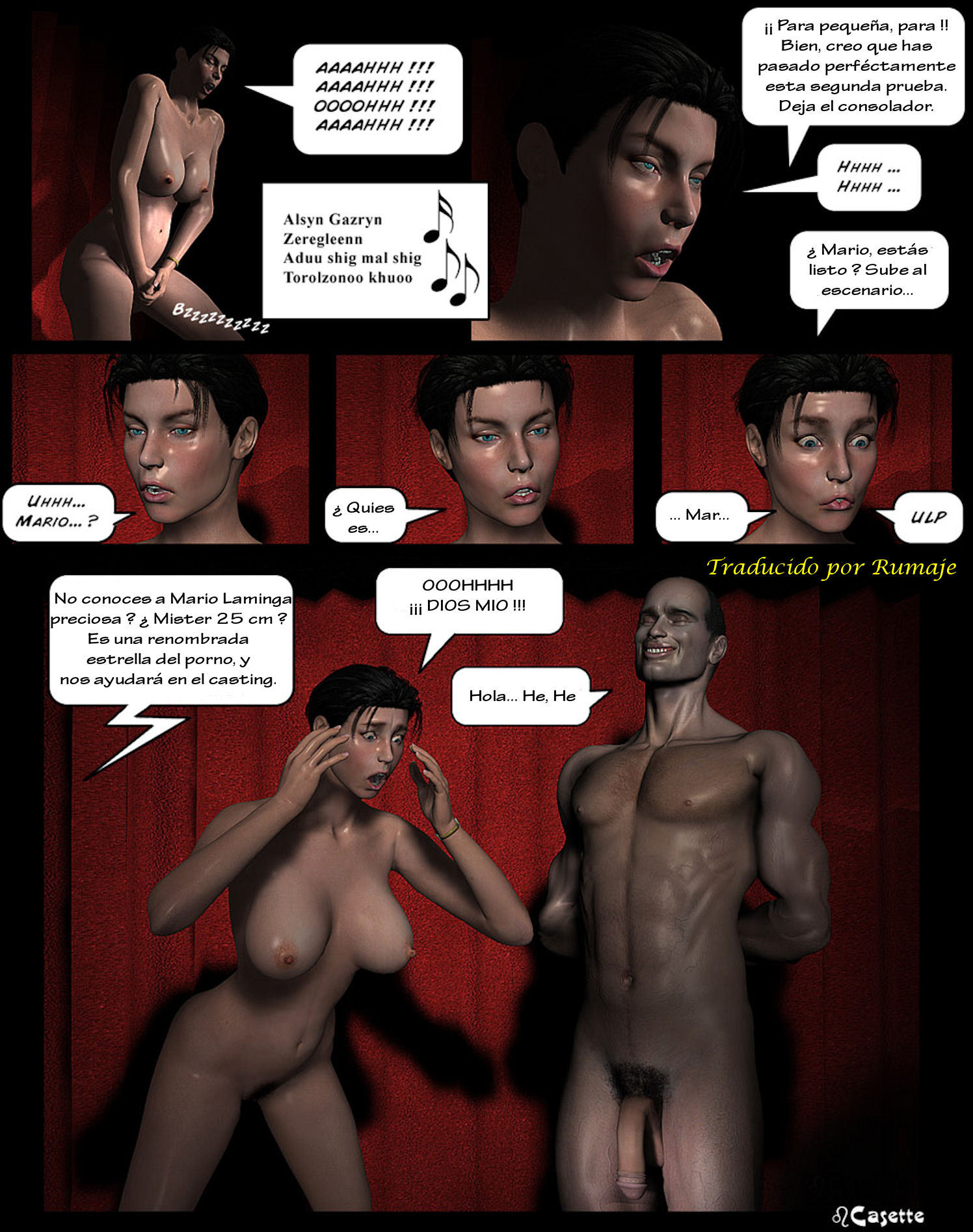 comics porno en español casting actor porno