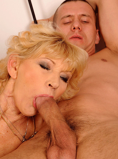 She loves sucking big cocks