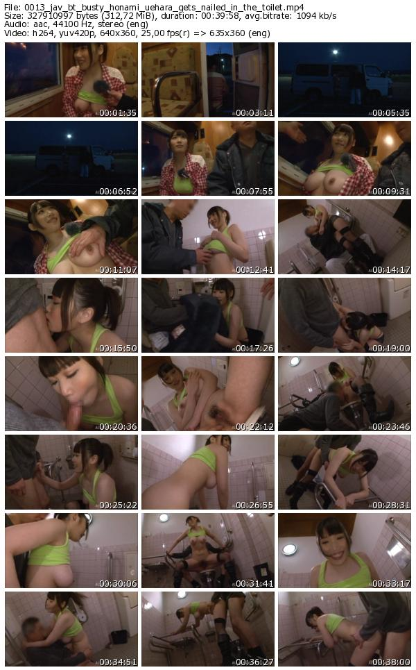 Honami gets nailed in the toilet 7