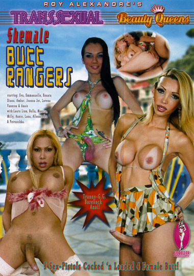 Transsexual Beauty Queens - Shemale Butt Rangers (2013)