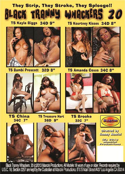 Black Tranny Whackers 20 (2013)