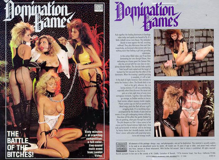 Domination Games,