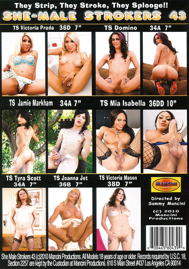 She-Male Strokers 43 (2010)