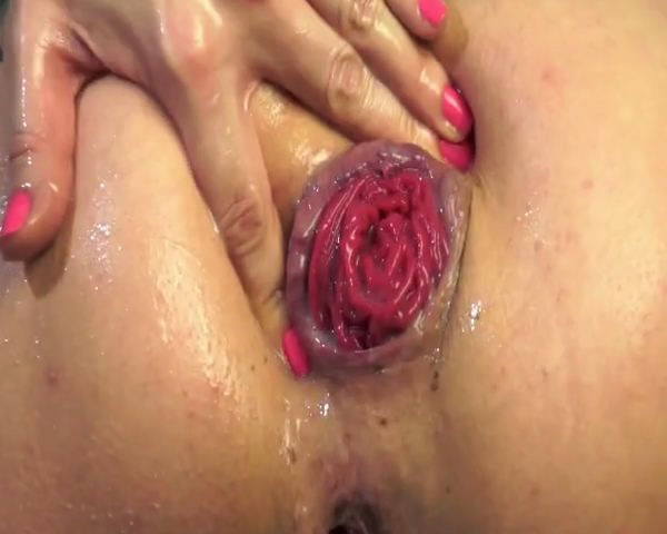 Bella Pepper Amazing slut from Russia - Self Anal Fisting and Anal Prolapse