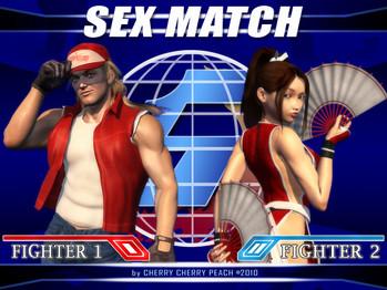 Sex Match: Mai Shiranui vs. Terry Bogard (Uncen)