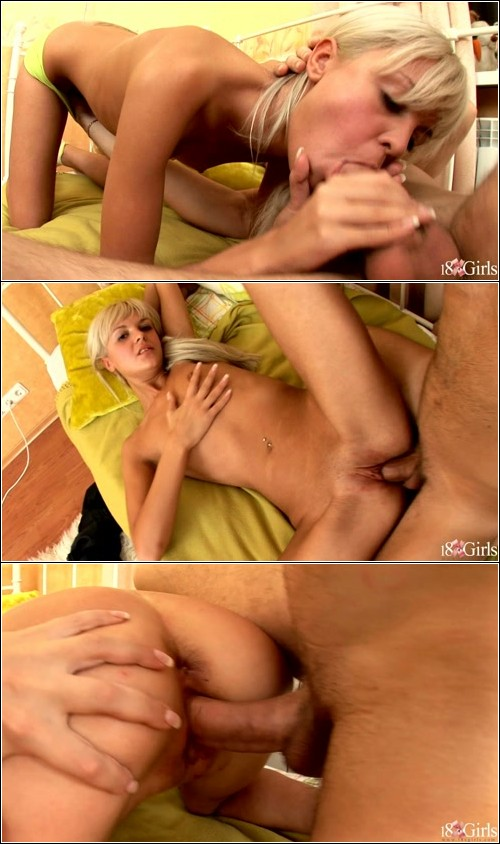 Anal sex with a cute girl