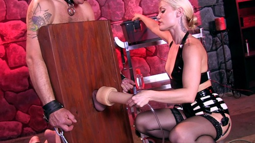 Milking Machine Female Domination