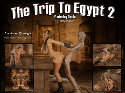 The Trip To Egypt 2 comic