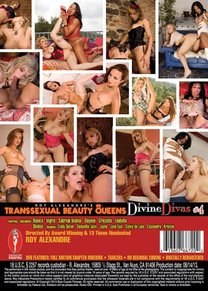 Trannsexual Beauty Queens - Divine Divas 4 (2013)