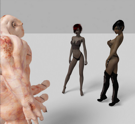 Collection 3D Art Monsters