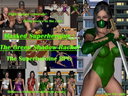 Masked Superheroine: The Green Shadow Rachel sex game cover