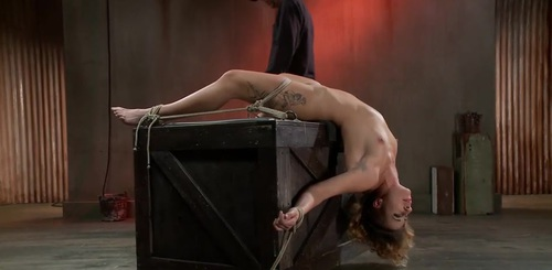 Helpless Whore Devastated By Extreme Bondage