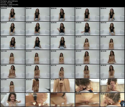 Czech Casting - JANA (4283) HD 720p
