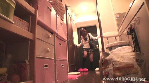 1000giri 2012-07-30 Miku めっちゃシタイ!!#019~ロリ顔の女子校生に中出し-ミク