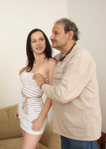 A kiss and strokes for a cuckolded husband