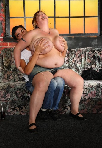 Lots of BBW sex action on the couch