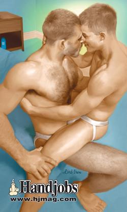 handjobs magazine gay