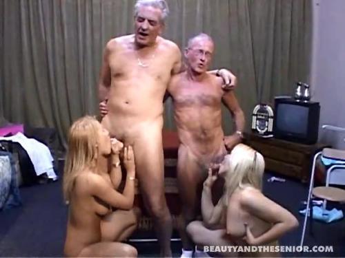 дед кончил в девку