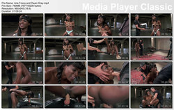 May 23, 2014 – Ana Foxxx  and Owen Gray