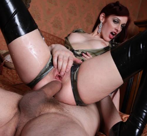 Секс латекс чулки анал порно видео