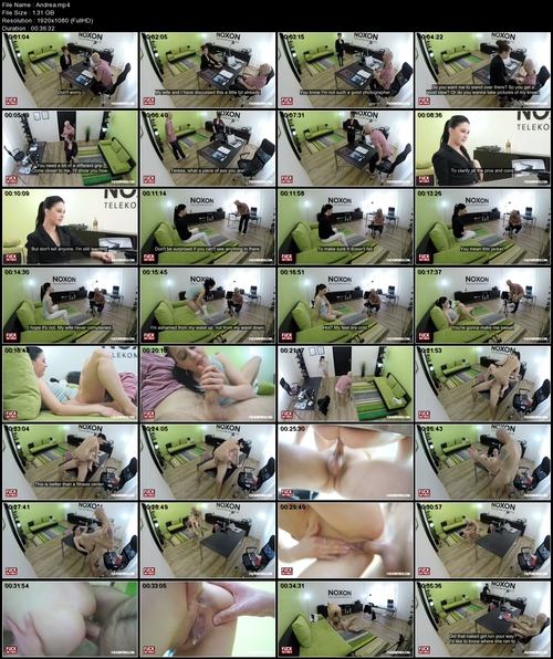 Andrea : Shy, but Poses Naked in the End - Fuck Or Fired - Episode 4 (2014 FullHD 1080p)