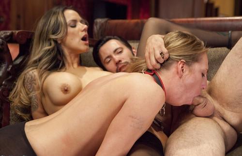Submissive nadia threesome