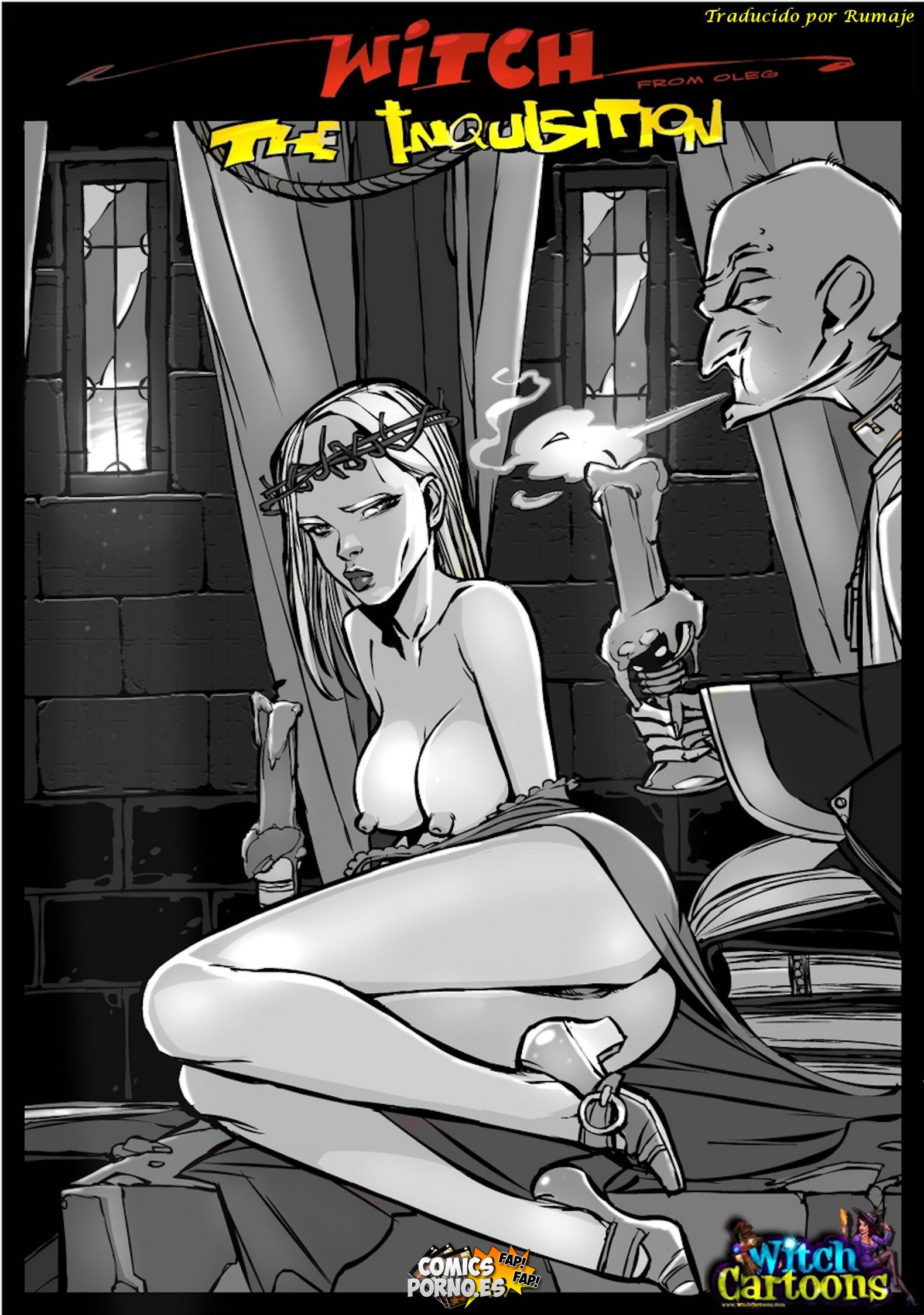 Sexy cartoons priest tits sex image